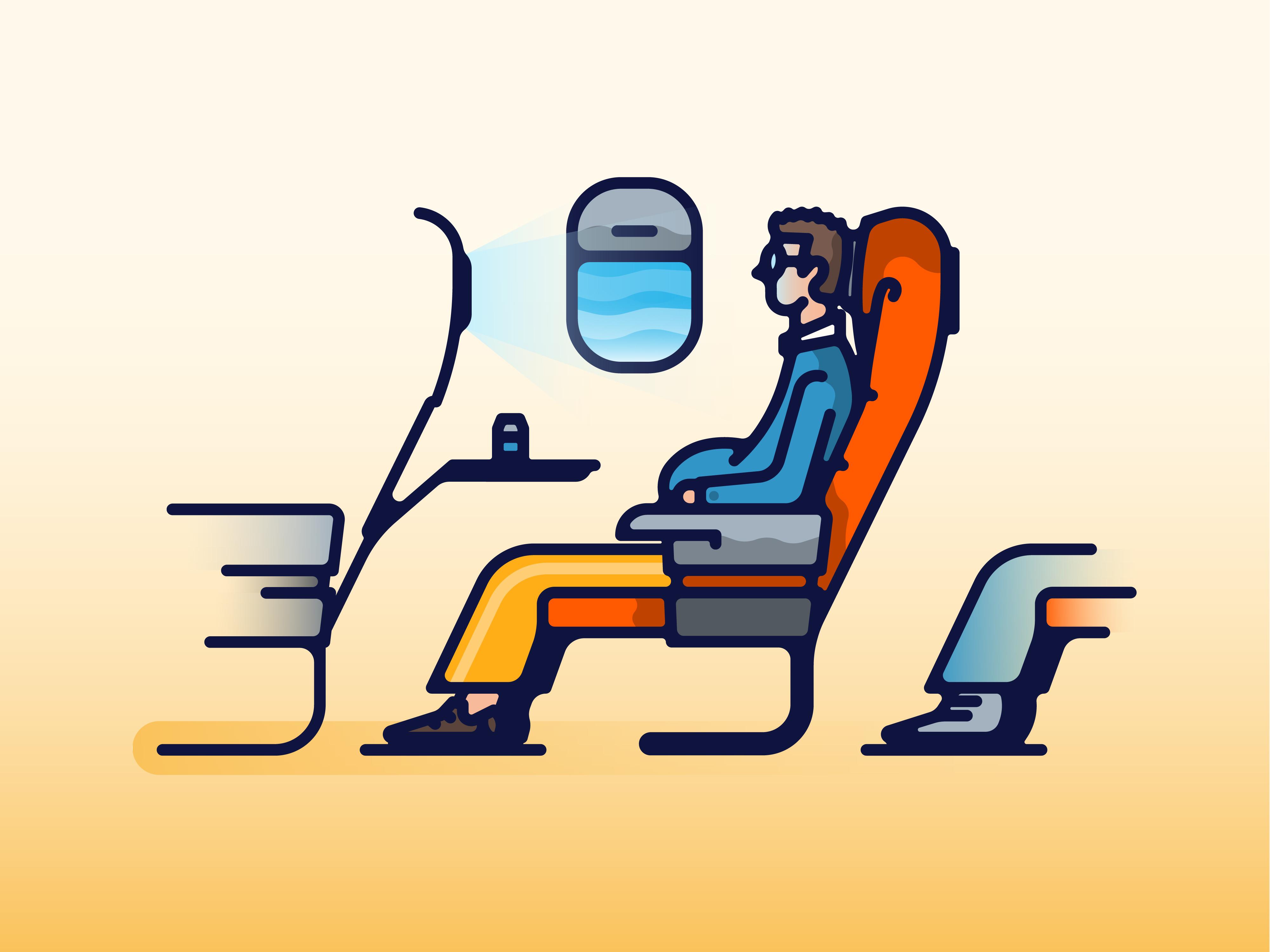 In flight entertainment original