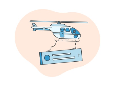 Air Drop mono weight illiustration brooklyn ny movement hover flight flying airport delivery blue flat aircraft chopper vehicle airplane notification ui drop air helicopter