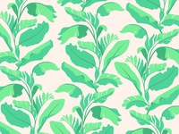 Palms Pattern WIP 2