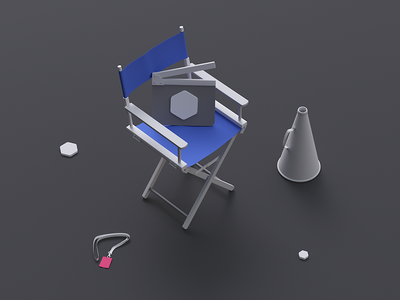 UI8 Studio clean minimal isometric ui8 studio illustration 3d