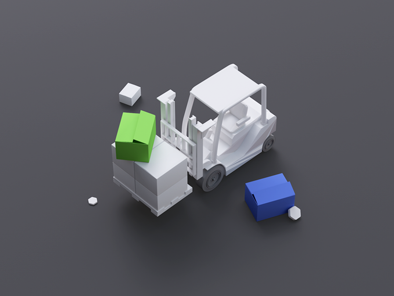 New Products products clean minimal isometric ui8 studio illustration 3d