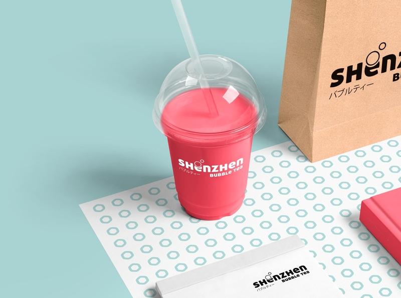 Shezhen Bubble Tea | Mockup vector modern logo modern design minimal logo illustrator illustration icon design branding