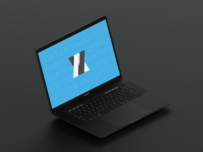 Vortex Analytics | Mock Up vector modern logo modern design minimal logo illustrator illustration icon design branding
