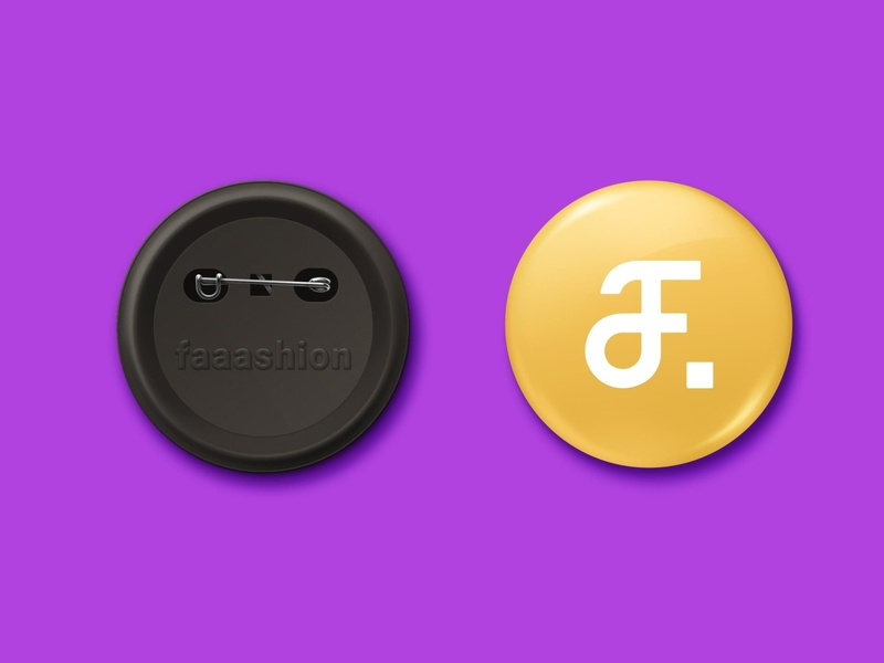Faaashion | Mockup | 2019 vector modern logo modern design monogram illustration logo illustrator icon design branding