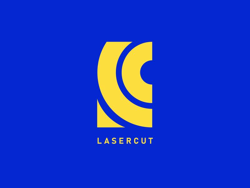 Lasercut | Logo Design Challenge | 2019 monogram modern design minimal modern logo illustration logo illustrator icon design branding