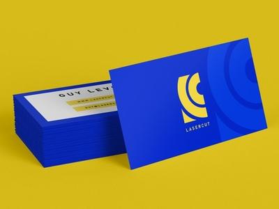 Lasercut | Mockup | 2019 vector modern design business card design minimal monogram illustration logo illustrator icon design branding