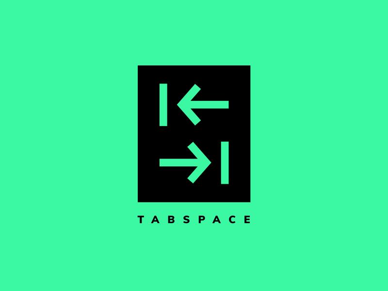 TabSpace | Logo Design Challenge | 2019 minimal modern logo vector monogram modern design logo illustrator icon design branding
