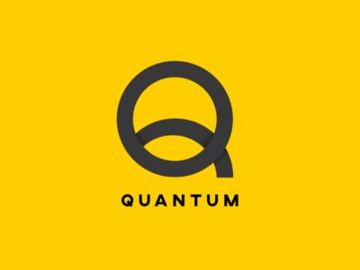 Quantum | Logo Design Challenge | 2019 simplistic modern logo illustrator icon branding typography monogram graphic vector design logo