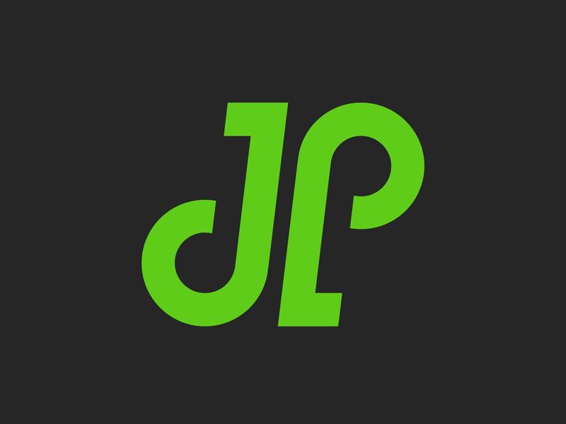 JP Lettering | Logo Design Challenge | 2019 monogram vector modern design minimal modern logo illustrator icon logo design branding