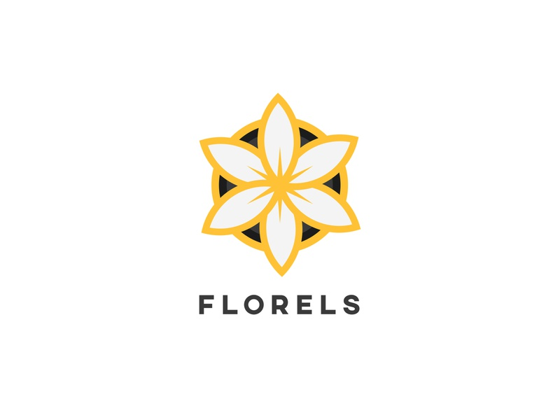 Florels | Logo Design Challenge | 2019 monogram vector modern design minimal modern logo illustrator icon logo design branding