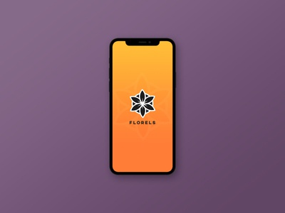 Florels | Mockup monogram illustration modern design minimal modern logo illustrator icon logo design branding