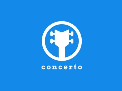 Concerto | Logo Design Challenge | 2019 branding vector graphics design graphic illustration illustrator simple monogram logo