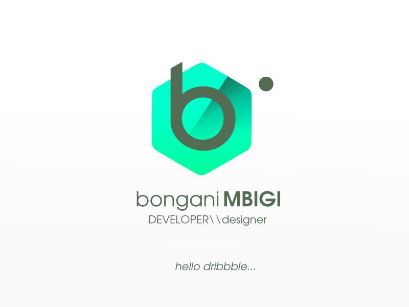 Personal Logo v. 1 personal logo hexagon minimal