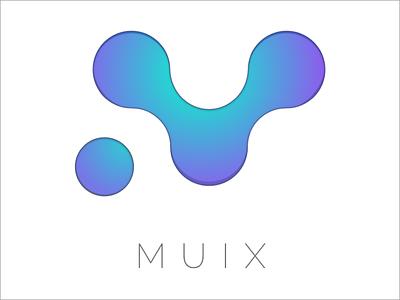 MUIX 3 sketch music logo