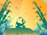 panda gradient