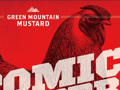 Atomic Rooster Mustard atomic rooster packaging mustard