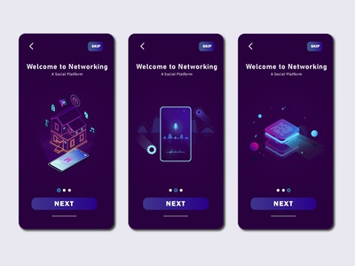 Networking UI Design