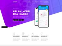 App Showcase Landing Page - Genemy