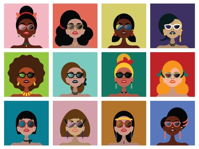International Women's Day illustration character cartooning woman illustration celebrition celebrities celebrity event day international woman women
