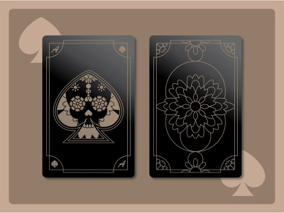 Spades Playing Card - Weekly Warm Up french spades skull cards playing card dark black card weeklywarmup