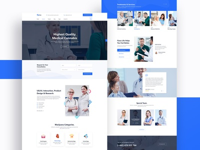 Fiana | Health and Medical HTML Template