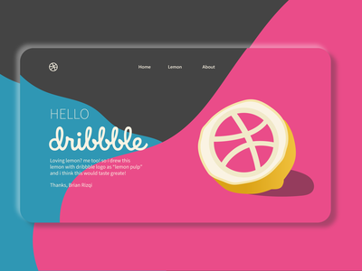 Hello Dribbble! hello dribbble hellodribbble hello dribble website illustrator web vector ui logo illustration design