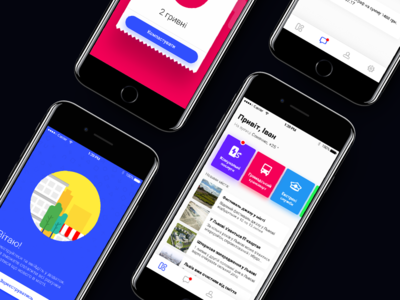 SmartCity - Concept figma clean illustration white smart city app concept