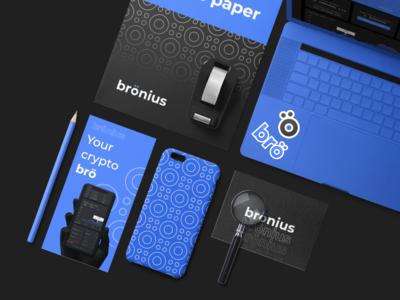 Brönius - investment service branding
