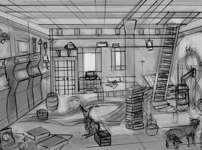 Barn Room Concept