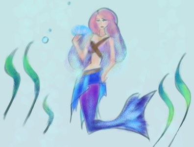 Mermay Day 16 characterdesign prompt painting mermay2020 mermay mermaid character art character art challenge drawing challenge drawingart drawing illustration digital illustration art illustration digital illustration digital art artwork digitalart art