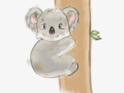 Koala Bear Sketch