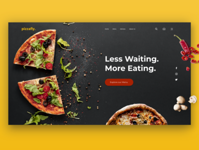 Pizzafly - Pizza delivery site