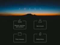 Daily UI #051 - Press Page