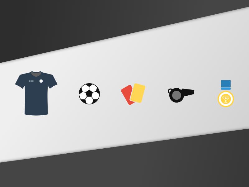 Daily UI #055 - Icon Set sports icon set icons icon soccer football dailyui 055 challenge daily sketch sketchapp