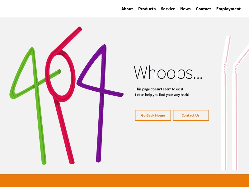 404 crazy straw straws straw illustration 404 page website 404