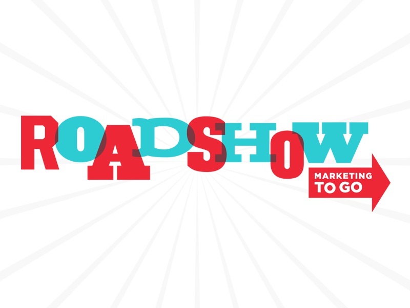 roadshow mobile marketing logo by megan lee earl dribbble dribbble