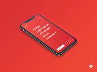 Minimal Menu for Mobile Screen