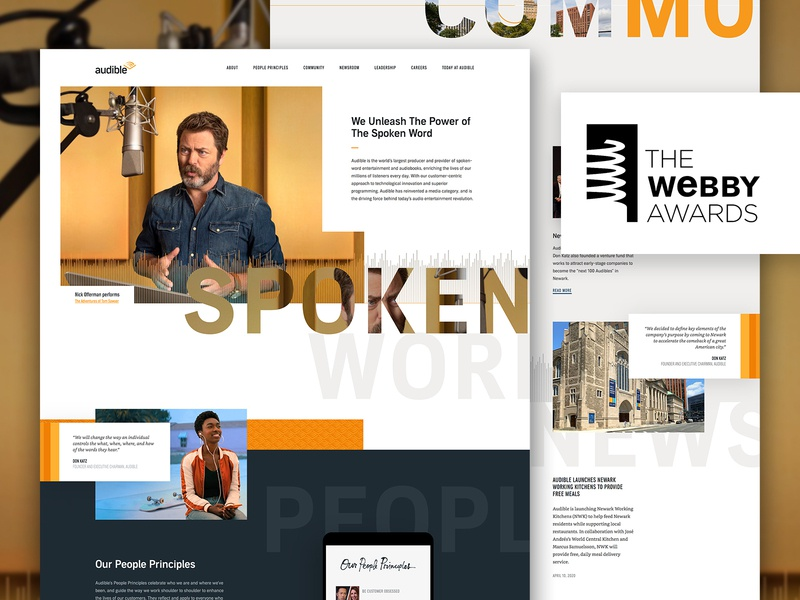 Webby Vote ui design website ux ui webby