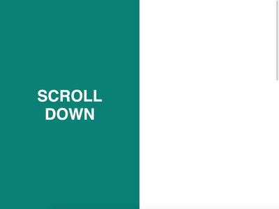 Scroll Content Transition greensock scroll transition animation