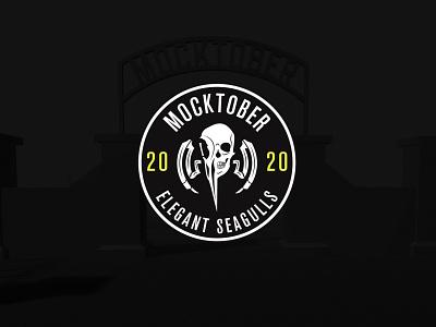 Mocktober 2020 seagulls branding logo halloween design contest mocktober