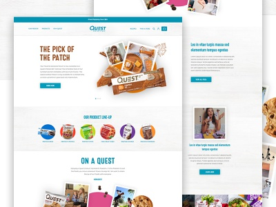 Quest Nutrition conversions ux ui store shop e-commerce e commerce ecommerce shopify