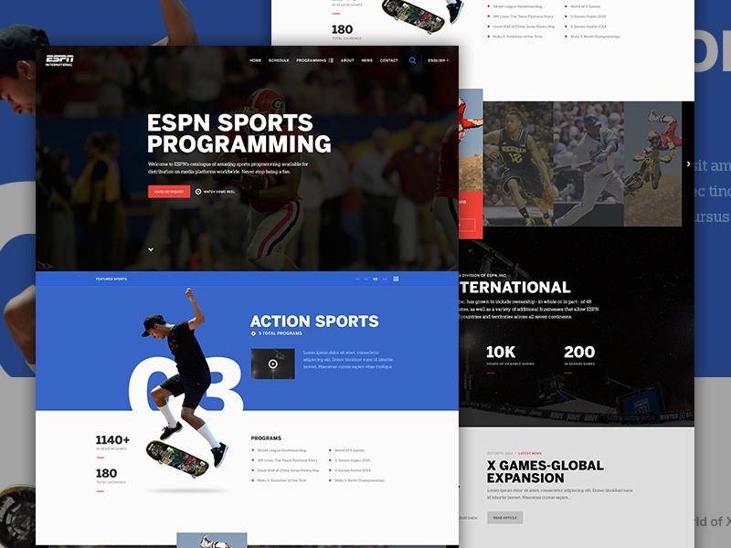 ESPN Sports Programming television schedule baseball basketball football video x games tv action espn sports elegant seagulls