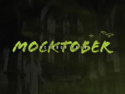 Mocktober 2016 mocktober boo horror zombie contest monster halloween elegant seagulls