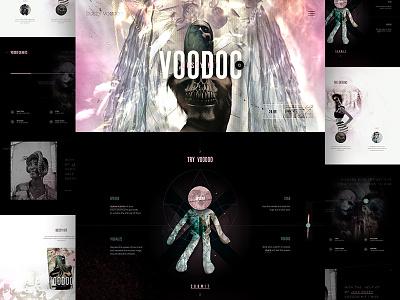 Dusty Voodoo music gradient shop mocktober voodoo e-commerce ecommerce elegant seagulls