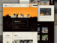 Hunt Reminder Concept