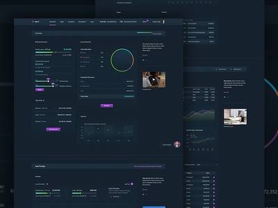 Dark Dashboard