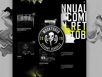 Mocktober Live mocktober skulls halloween type website