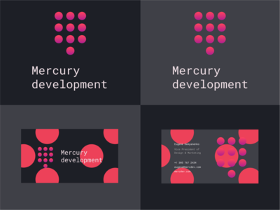 Mercury development logo design contest