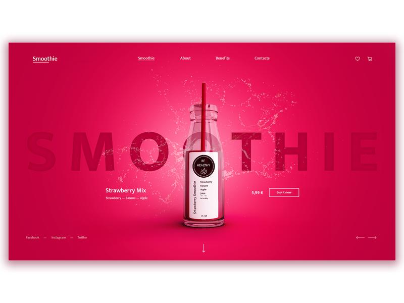 Smoothie online store