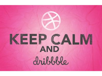 Keep calm and dribble